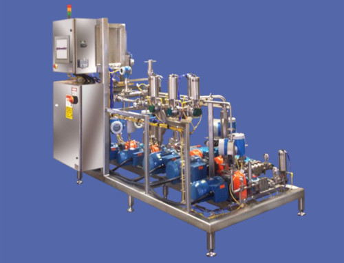 Automated Homogenizer and In Line Blending Systems
