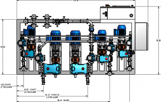 inline blending system graphic