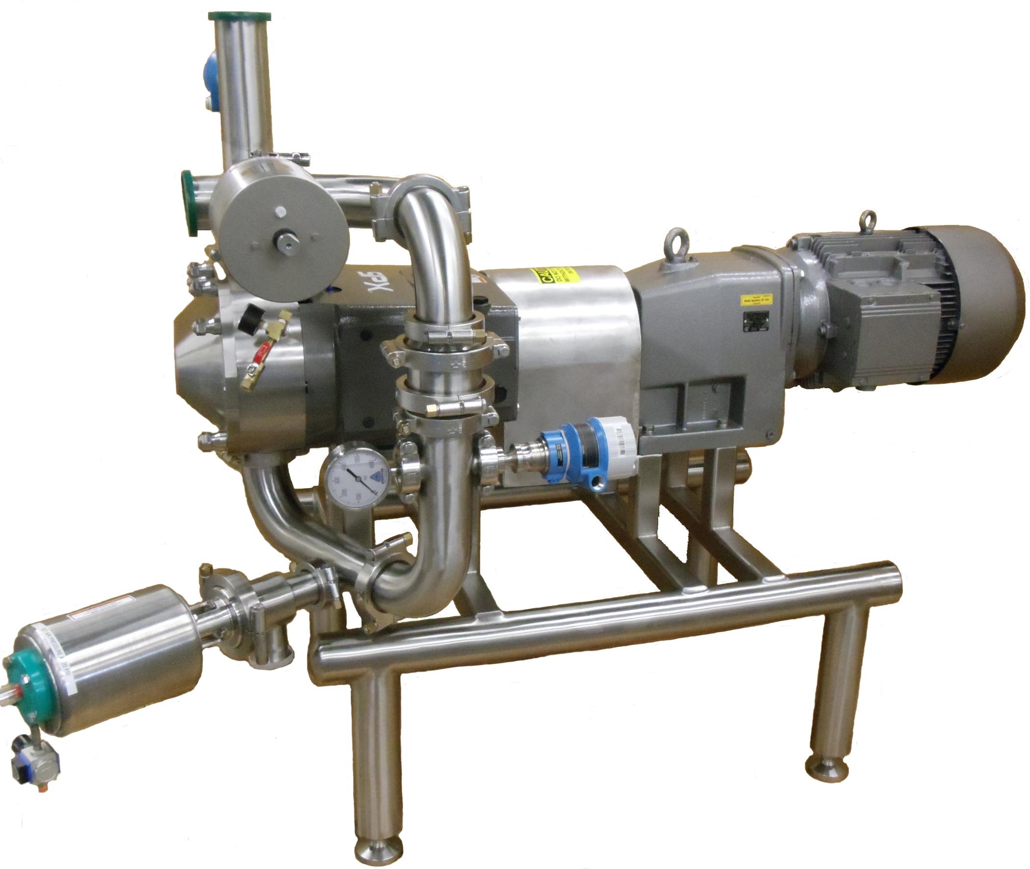 Pumping Skid using Waukesha pump