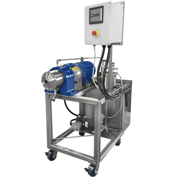 custom designed colloid mill system