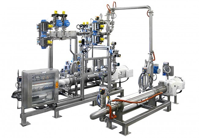 continuous homogenizer system