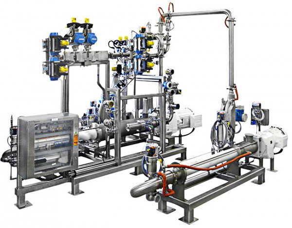 Full homogenizer system