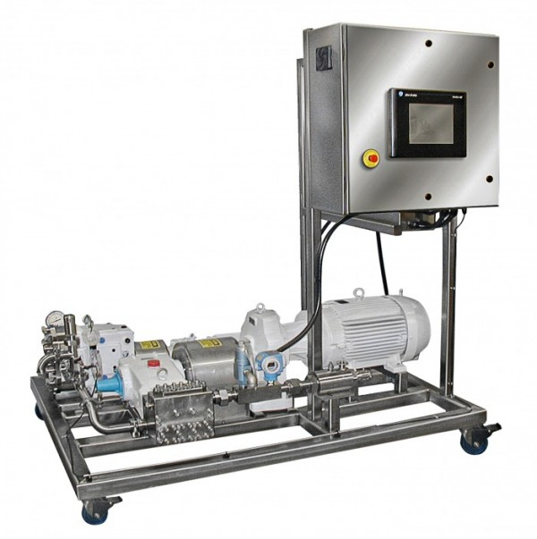 complete pumping skid system