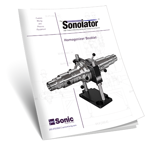 Sonic Homogenizer e-booklet